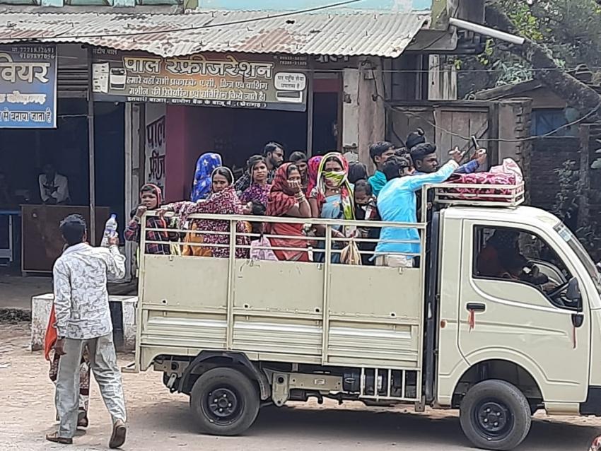 कोराेना का कहर: खैरागढ़ के 10 वार्ड में 13 कंटेनमेंट जोन, नौ गांवों में भी तय की गई सीमा