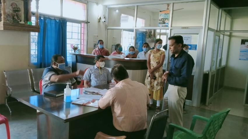 बड़ी कार्रवाई: खैरागढ़ में बिना रजिस्ट्रेशन चल रहे माधव मेमोरियल हॉस्पिटल में छापा