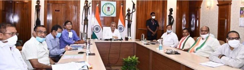 Bijapur जिले में 96 करोड़ की लागत से होंगे 171 विकास कार्य, CM ने किया ई लोकार्पण और भूमिपूजन