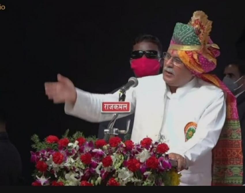 मुख्यमंत्री बोले- हठधर्मिता छोड़ किसानों की बात मान ले केंद्र सरकार, छत्तीसगढ़ की नीतियों पर करे अमल